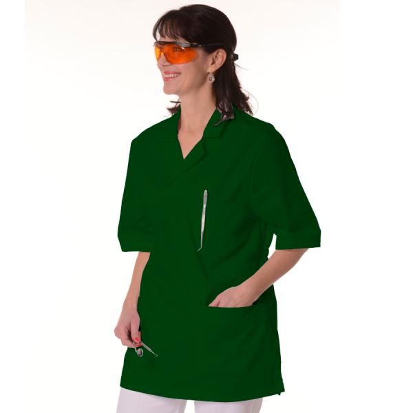 Womens-Tunics-for-Work-Dorado-Green