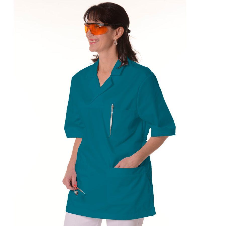 Womens-Tunics-for-Work-Dorado-Petrol