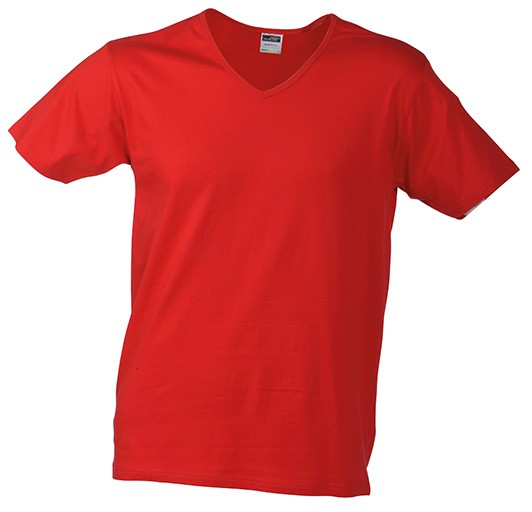 Work-T-shirt-for-men-JN912-red