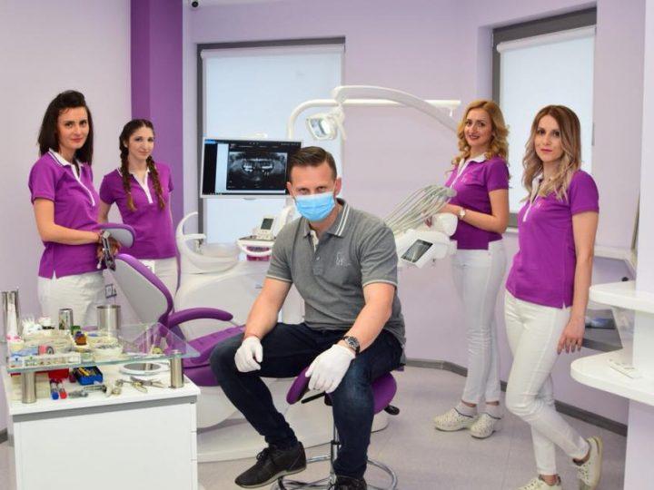 "Dental Studio ""Dr. Dzhylyanov"" with New Medical Uniforms"